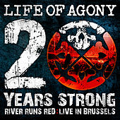 Play & Download 20 Years Strong | River Runds Red: Live in Brussels by Life Of Agony | Napster
