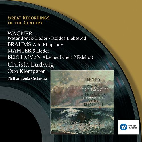Play & Download Wagner, Brahms, Beethoven, Mahler: Wesendonck-Lieder etc. by Philharmonia Orchestra | Napster