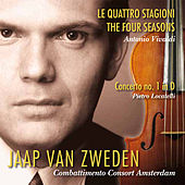 Vivaldi: Le quattro stagioni (The Four Seasons) - Locatelli: Concerto No. 1 in D by Jaap van Zweden