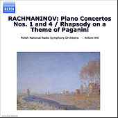 Play & Download Piano Concertos Nos. 1 and 4 by Sergei Rachmaninov | Napster