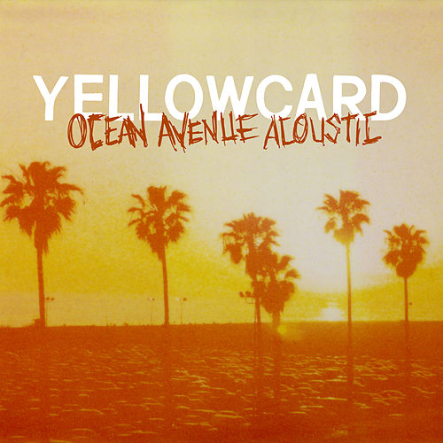 You and me and one spot light yellowcard