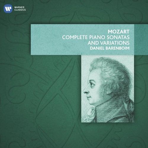 Mozart: Complete Piano Sonatas and Variations by Daniel Barenboim