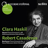 Play & Download Lucerne Festival Historic Performances, Vol. I (Mozart: Piano Concerto K. 466 - Beethoven: Piano Concerto No. 5 'Emperor') by Clara Hasikl | Napster
