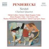Play & Download PENDERECKI: Sextet / Clarinet Quartet / Cello Divertimento by Various Artists   Napster