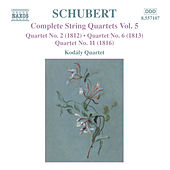 Play & Download SCHUBERT: String Quartets Nos. 2, 6 and 11 by Kodaly Quartet | Napster