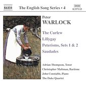 Play & Download WARLOCK: The Curlew / Lillygay / Peterisms / Saudades by Various Artists | Napster