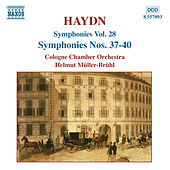 Play & Download HAYDN: Symphonies Nos. 37-40 by Cologne Chamber Orchestra | Napster