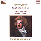 BEETHOVEN: Symphonies Nos. 5 and 2 by Slovak Radio Symphony Orchestra
