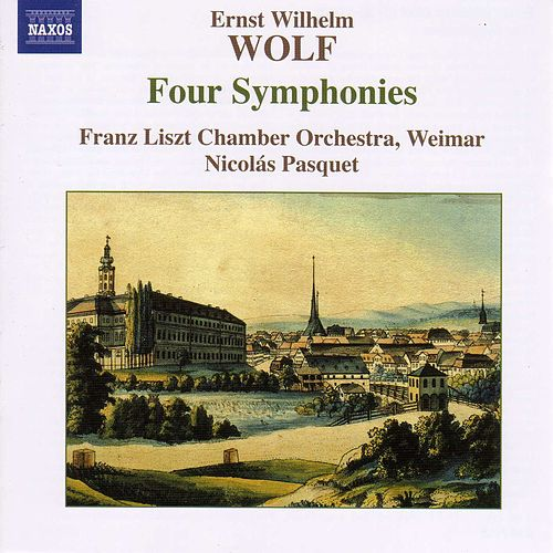WOLF, E.W.: 4 Symphonies by Emanuel Ax; Franz Liszt Chamber Orchestra