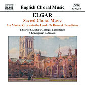 Play & Download ELGAR: Ave Maria / Give unto the Lord / Te Deum and Benedictus, Op. 34 by Jonathan Vaughn | Napster