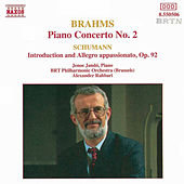 Play & Download BRAHMS: Piano Concerto No. 2 / SCHUMANN: Introduction and Allegro, Op. 92 by Jeno Jando | Napster