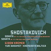Shostakovich: Violin Sonata; Viola Sonata - Orchestrated by Various Artists