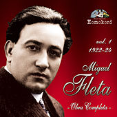 Miguel Fleta: Obra Completa, Vol. 1 (1922/24) by Various Artists