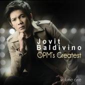 Jovit Baldivino OPM's Greatest Vol.1 by Jovit Baldivino