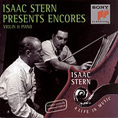 Play & Download Encores by Isaac Stern | Napster