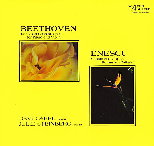 Beethoven: Violin Sonata, Op. 96 - Enescu: Violin Sonata, Op. 25 by David Abel