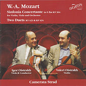 Play & Download Mozart: Sinfonia Concertante, K. 364 - Duo in G Major, K. 423 - Duo in B-Flat Major, K. 424 by Igor Oistrakh | Napster