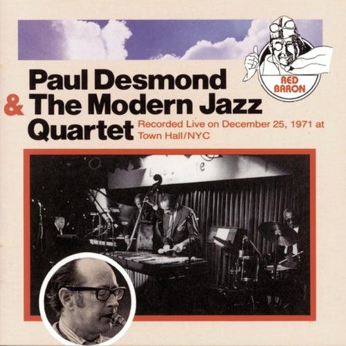 Paul Desmond & The Modern Jazz Quartet by Paul Desmond