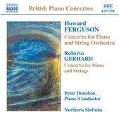 Play & Download FERGUSON / GERHARD / ROWLEY / DARNTON: Piano Concertos by Peter Donohoe | Napster