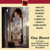 Guy Bovet à l'orgue Saint-Martin de la Collégiale de Neuchâtel by Guy Bovet
