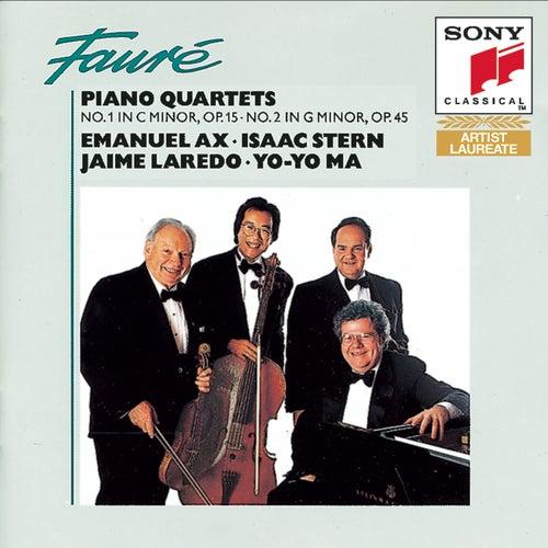 Fauré: Piano Quartets von Yo-Yo Ma
