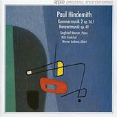 Play & Download Hindemith: Kammermusik No. 2 - Konzertmusik by Siegfried Mauser | Napster
