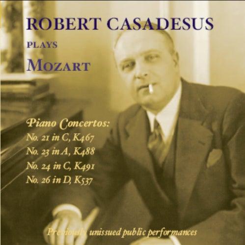 Robert Casadesus plays Mozart (1958-1969) by Robert Casadesus