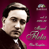 Miguel Fleta: Obra completa, Vol. 2 (1924/26) by Various Artists