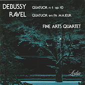 Debussy: String Quartet No. 1, Op. 10 & Ravel: String Quartet in F Major, Op. 35 by Fine Arts Quartet