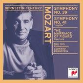 Mozart: Le Nozze di Figaro Overture; Symphonies No. 39 & 41 by New York Philharmonic