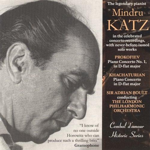Mindru Katz Plays Prokofiev & Khachaturian by Mindru Katz