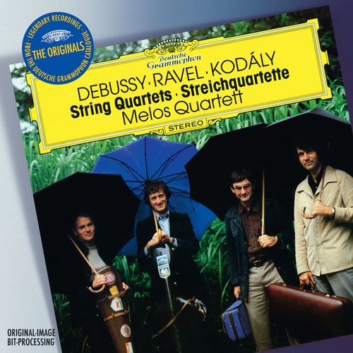 Play & Download Debussy / Ravel / Kodály: String Quartets by Melos Quartet | Napster