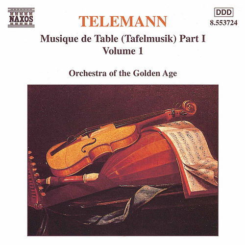 Tafelmusik Vol. 1 by Georg Philipp Telemann