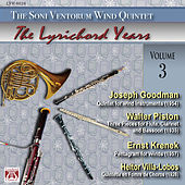 Play & Download Joseph Goodman - Walter Piston - Ernst Krenek - Heitor Villa-Lobos by The Soni Ventorum Wind Quintet | Napster