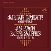 Bach: Lute Suites Nos. 1 & 2 by Julian Bream
