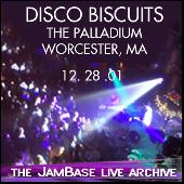 Play & Download 12-28-01 - Palladium - Worcester, MA by The Disco Biscuits | Napster