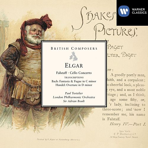Play & Download Elgar Falstaff, Cello Concerto etc by London Philharmonic Orchestra | Napster