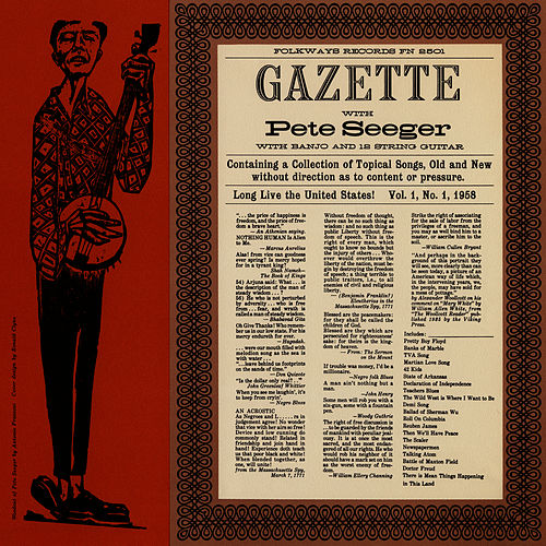 Gazette, Vol. 1 by Pete Seeger