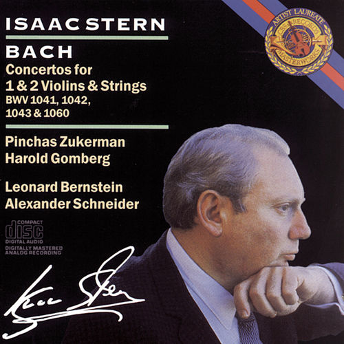 Bach:  Concertos for Violin, BWV 1041-43 & 1060 by Isaac Stern