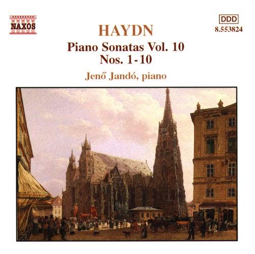 HAYDN: Piano Sonatas Nos. 1-10 by Jeno Jando
