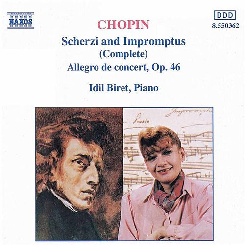 CHOPIN: Scherzi  and  Impromptus (Complete) by Idil Biret