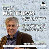 Play & Download David Matthews: Music for Solo Violin, Vol. 1 by Peter Sheppard Skaerved | Napster