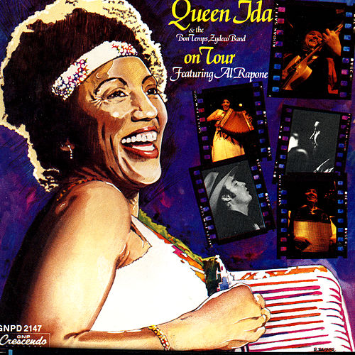 Play & Download Queen Ida & The Bon Temps Zydeco Band: On Tour by Queen Ida | Napster