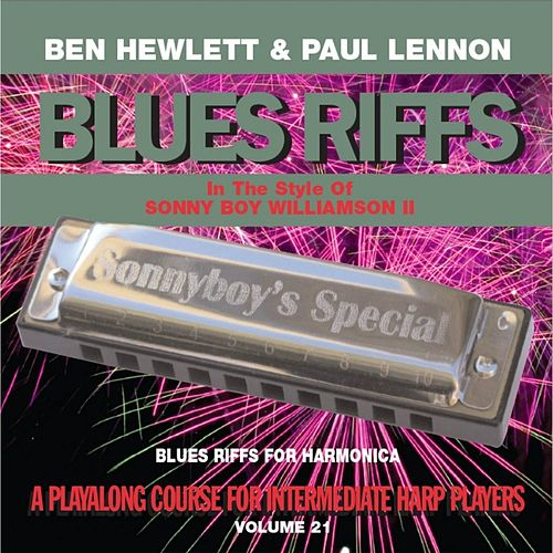 Play & Download Blues Riffs for Harmonica, Vol. 21: Playalong Course for Intermediate Harp Players by Ben Hewlett | Napster