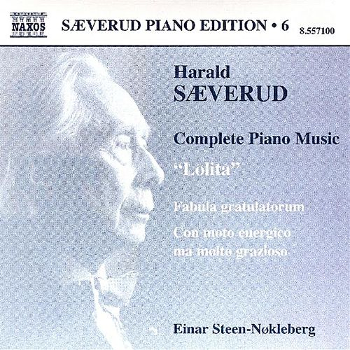 SAEVERUD: Complete Piano Music, Vol. 6 by Einar Steen-Nokleberg