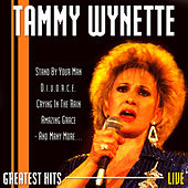 Greatest Hits Live by Tammy Wynette