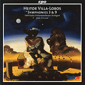 Play & Download Villa-Lobos: Symphonies Nos. 3 & 9 by Stuttgart Radio Symphony Orchestra | Napster