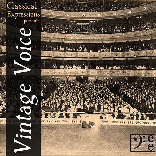 Play & Download Vintage Voice: 60 Songs by the Greatest Opera Singers of All Time Including Enrico Caruso, Dietrich Fischer-Dieskau, Leontyne Price, Jan Peerce, Elisabeth Schwarzkopf, Marian Anderson, Renata Tebaldi, Alma Gluck, & More by Various Artists | Napster