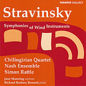 Play & Download Stravinsky:  Symphonies Of Wind Instruments; 3 Pieces For String Quartet; 3 Japanese Lyrics; 2 Poems Of Balmon by Igor Stravinsky | Napster