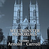 Westminster Memorials - Volume 1 by Various Artists